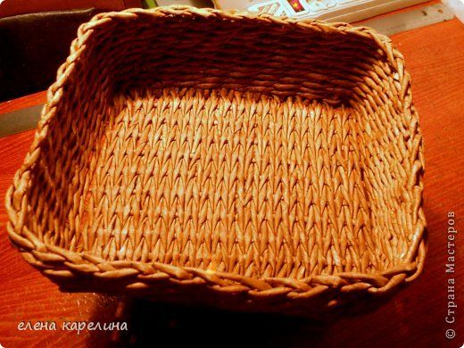 Мастер-класс Поделка изделие Плетение СТАНОК ДЛЯ ПЛЕТЕНИЯ КВАДРАТНОГО ДНА Трубочки бумажные фото 1
