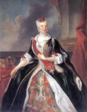 Maria Jozefa Hapsburg, 1737  (Louis de Silvestre) (1675-1760) Location TBD