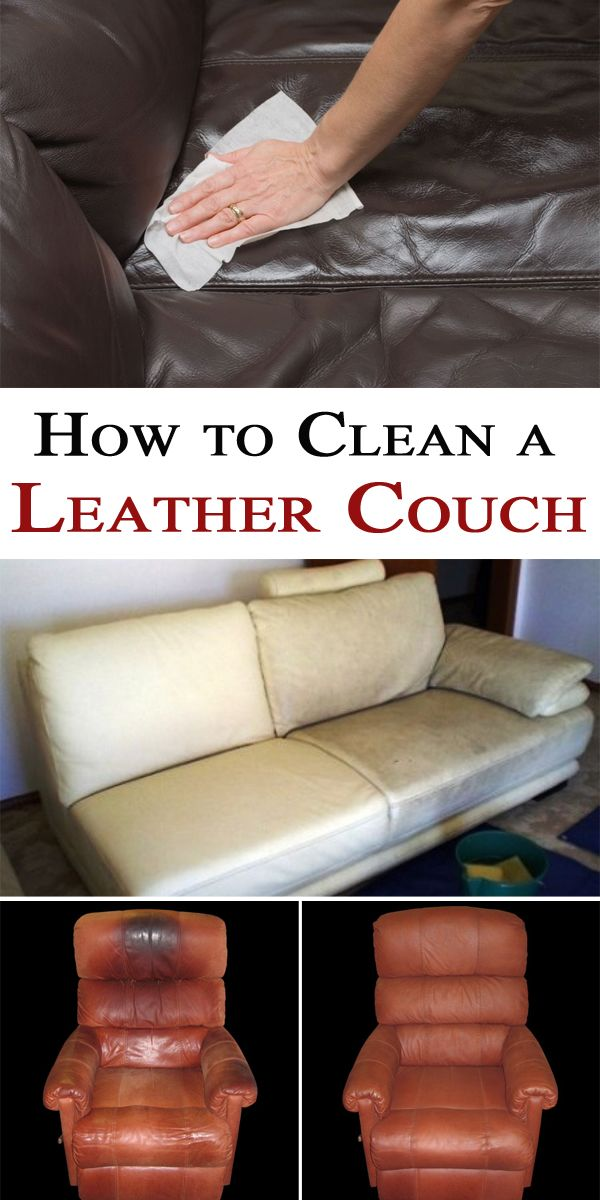 How to Clean a Leather Couch
