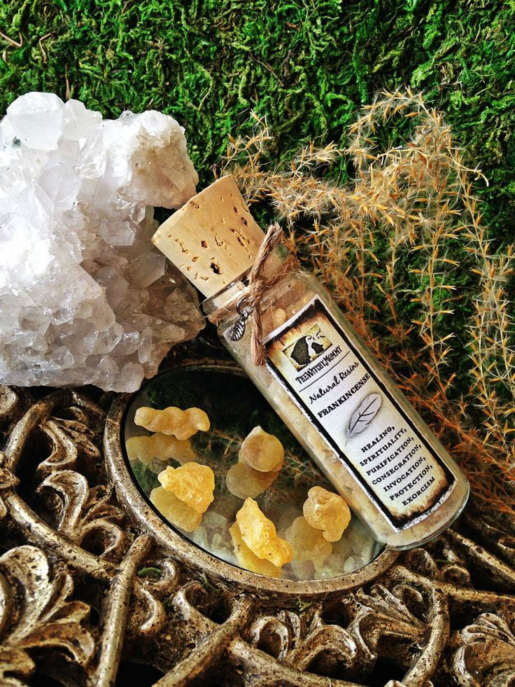 FRANKINCENSE Incense Resin - Witchcraft, Magick, Hoodoo