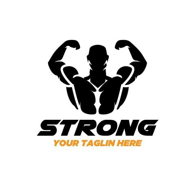 تصاميم شعار لياقة قوي شعارات أيقونات أيقونات قوية التصميم Png والمتجهات للتحميل مجانا Gym Logo Fitness Logo Logo Design Health