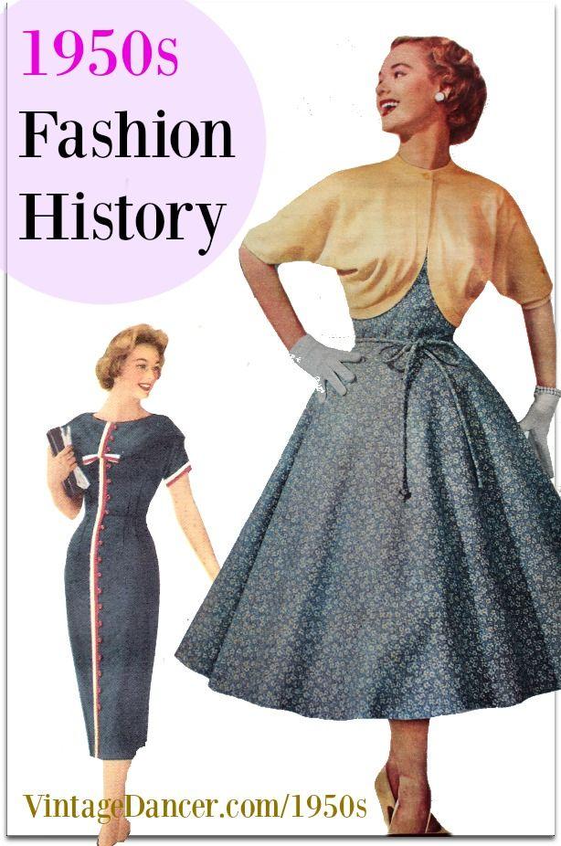 1950s Fashion History Women S Clothing Formal Dresses