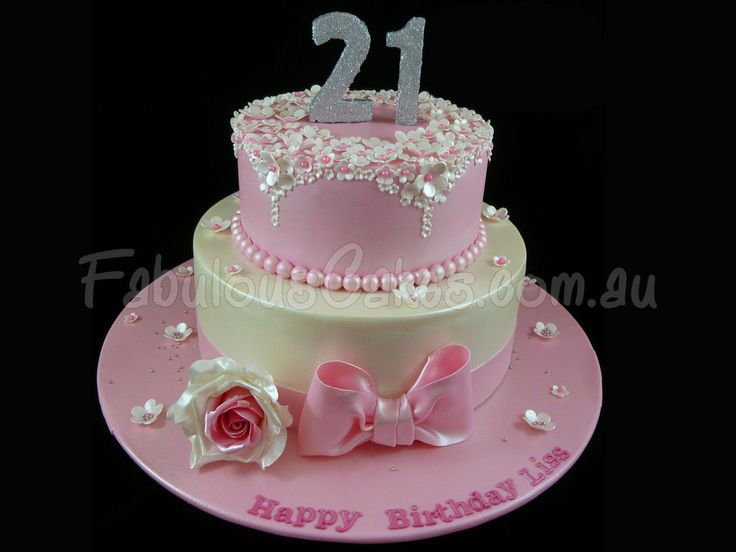 21st birthday cake | 21st Birthday | Pinterest | Birthday ...