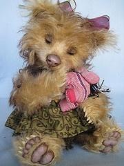Teddy bear Willow by Joanne Livingston