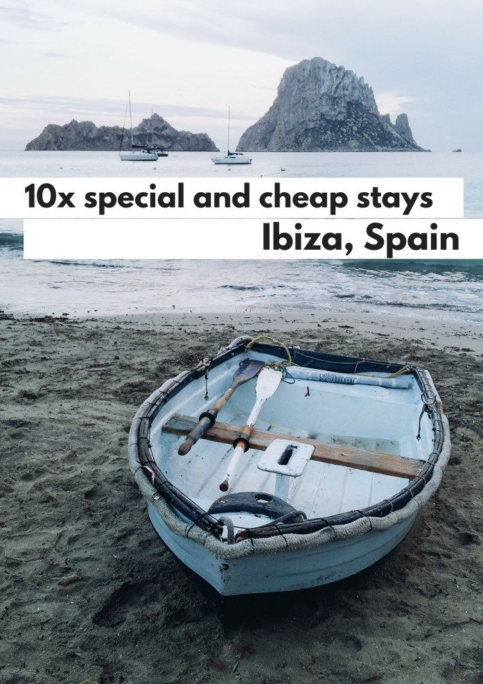 10 special and cheap stays on the island Ibiza, Spain - Map of Joy
