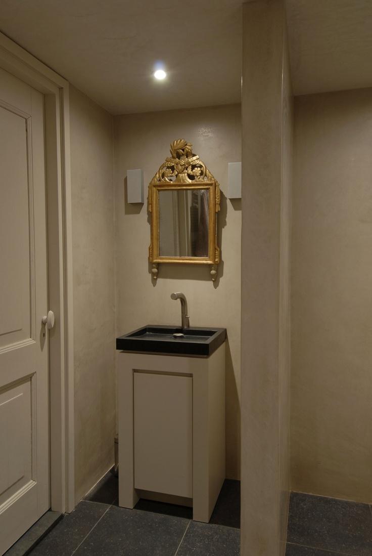 Tadelakt bathroom made by amel kadic - Carte Colori Tadelakt Badkamer Bathroom Inspirationtoilet