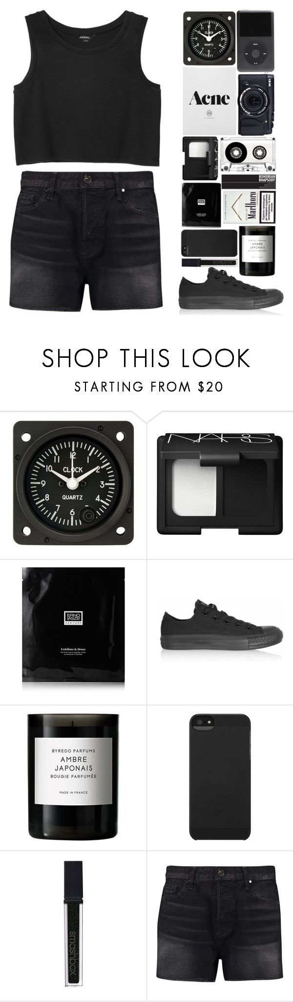 """""""In her eyes there's no lies,there's no question, she's not in a disguise"""" by onedirectiondress ❤ liked on Polyvore featuring Fujifilm, NARS Cosmetics, Erno Laszlo, Converse, Byredo, Incase, Smashbox, J Brand and Monki"""