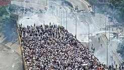 (1) Venezuela 19 de abril | Así fue la marcha y protesta contra el gobierno de Nicolás Maduro - YouTube