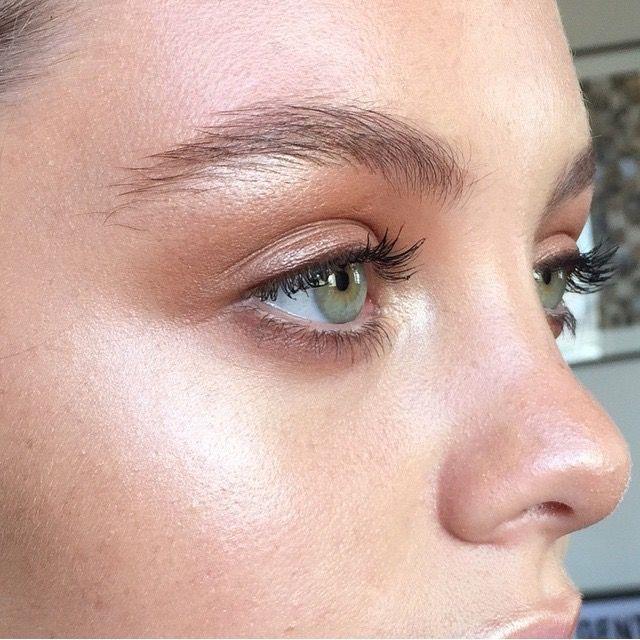 Brown eye make up (by Ania Milczarczyk)
