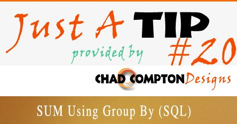 SUM using Group By SQL