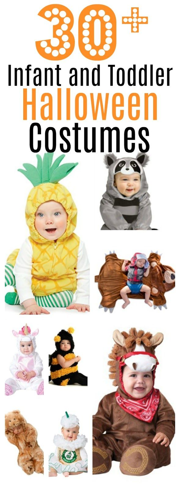 Mega-list of over 30 Halloween costumes for boys and girls!  #halloween #costumes