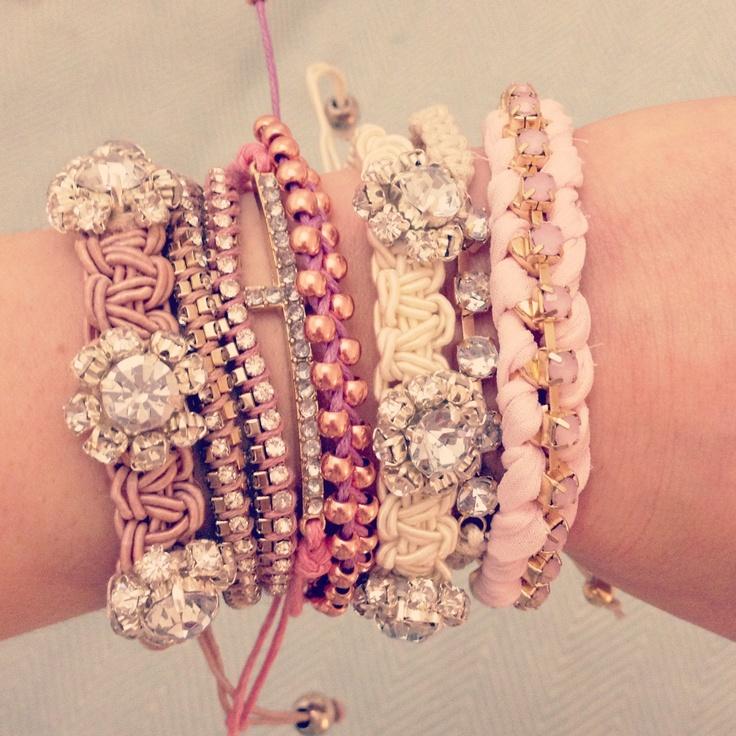 44 best Jewelry: BRACELET STACKS images on Pinterest | Jewelry ...