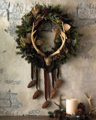 LOVE!!! Yule wreath idea!