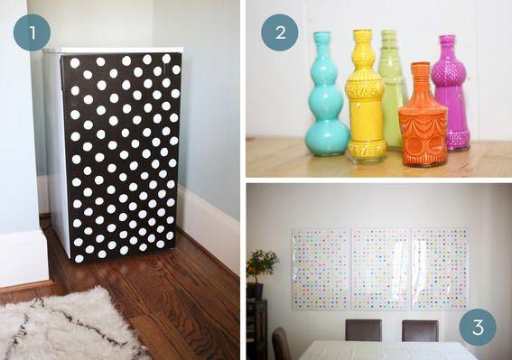 Roundup 10 diy dorm room decorating ideas posts dorm for Diy crafts for dorm rooms