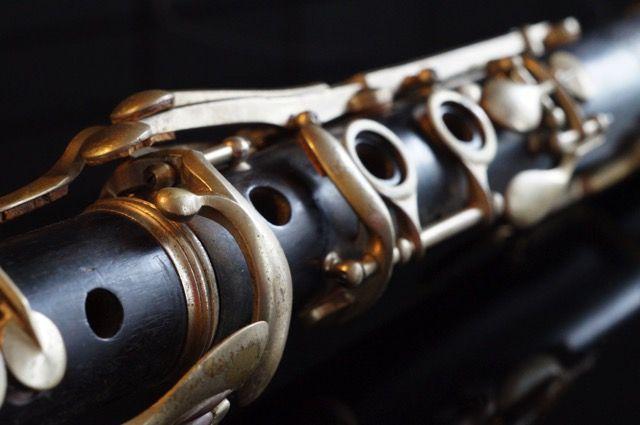 Etude on an old clarinet (2) | muziekinstrumenten, musical instruments, fotografie, photography, art, artistic, kunst, macro