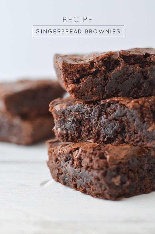 A delicious and yummy gingerbread brownies recipe that will have everyone coming back for seconds.