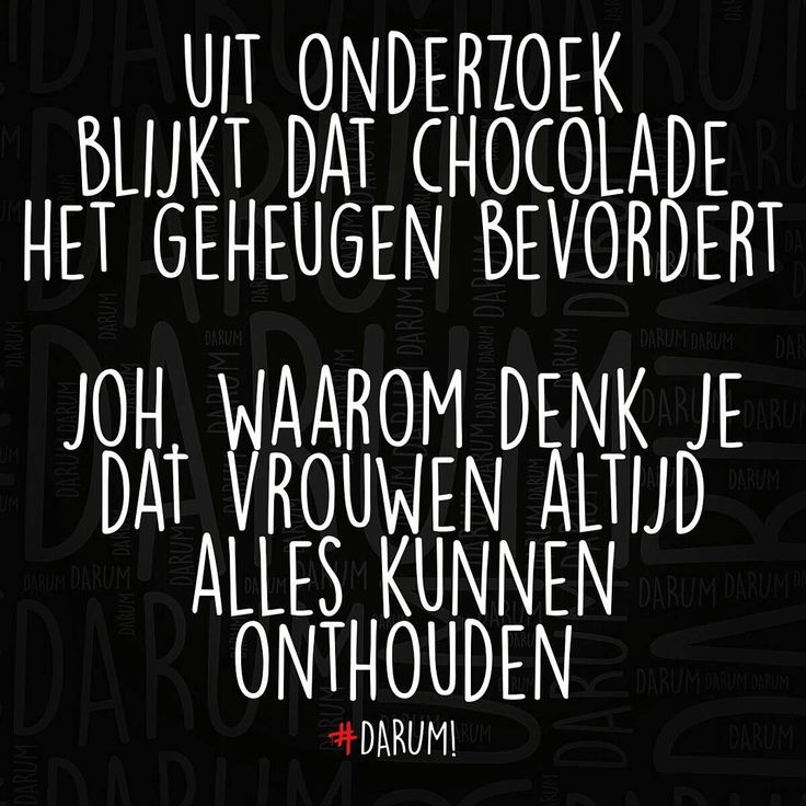 """#darum #chocolade"""
