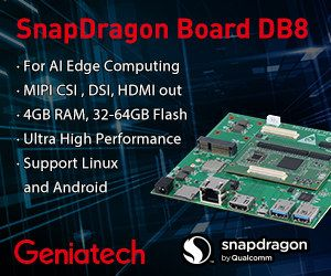 Geniatech DB8 development board is based on the Qualcomm