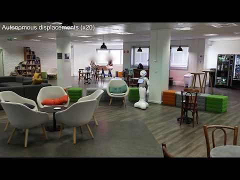 [AI Lab] Pepper Identifies obstacles - YouTube