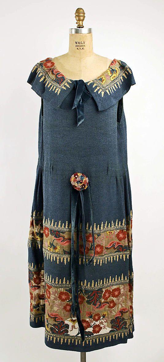 omgthatdress:  Dress 1920 The Metropolitan Museum of Art