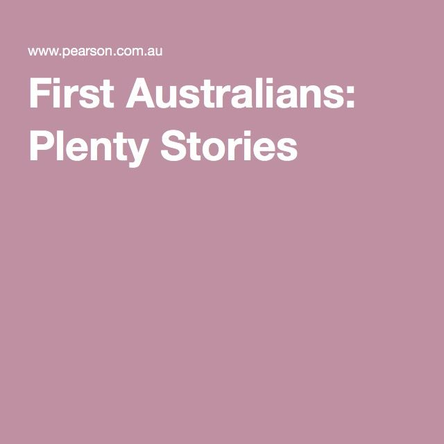 29 best aboriginal books and resources images on pinterest first australians plenty stories fandeluxe Document
