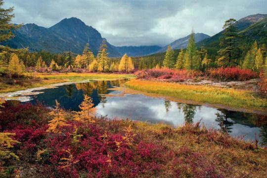 Jack London's Lake, Kolyma, Magadanskaya oblast, Far East | Озеро Джека Лондона, Колыма, Магаданская область, Дальний Восток