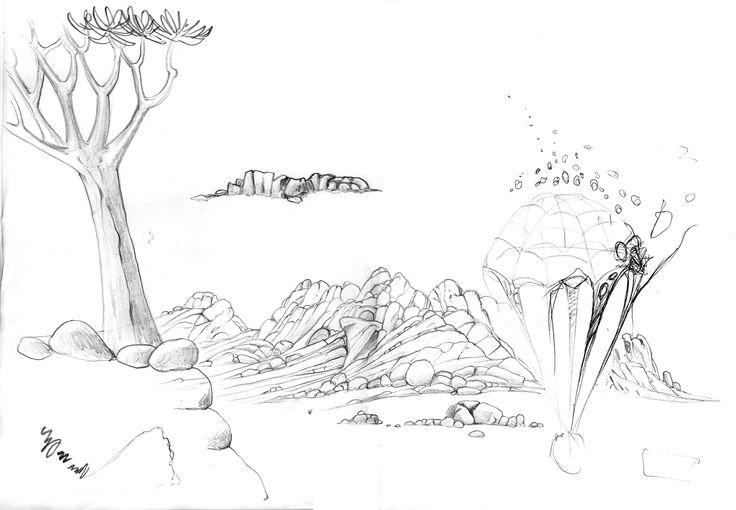 Concept Art for Jungle Beat