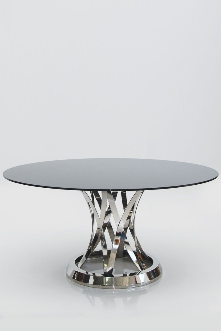 Black glass table top - Chiso Dining Table By Mobital On Hautelook Love This Base Just Wish The Glass