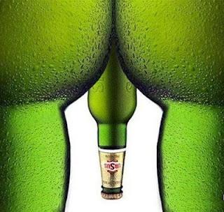 Was man mit Bier alles vorstellbar machen kann :-)