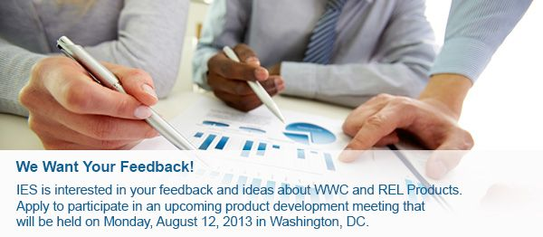 What Works Clearinghouse- wonderful site for quick, concise information about best practices.