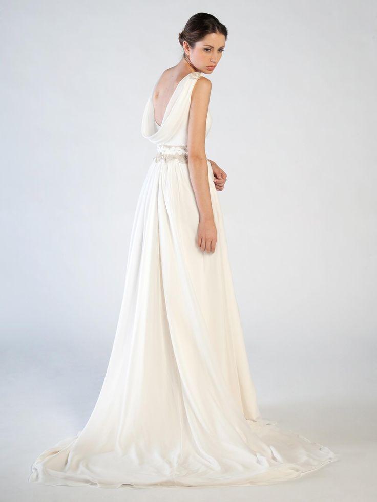 www.jorgeaparisi.com vestido novia vintage vestido de novia Pol Nuñez novias sencillas