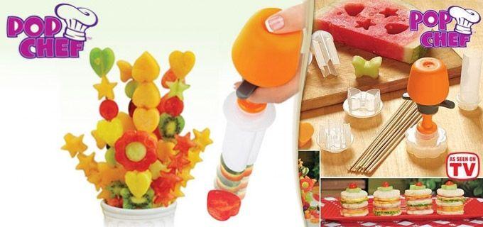 LiveDeal | ΠΡΟΣΦΟΡΕΣ αθήνα | Deal - Ξεχωριστό Εργαλείο Μαγειρικής Pop Chef, ο πιο γρήγορος και διασκεδαστικός τρόπος για να φτιάξετε υγιεινά σνακ και να τα μετατρέψετε σε απολαύσεις τέχνης, μόνο με 8,90€ από 16€, με παραλαβή από το κατάστημα Magichole.com