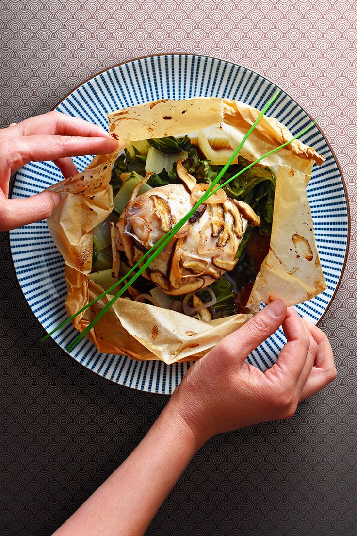If you have my All-Purpose Stir-Fry Sauce on-hand, you can make Paper-Wrapped Chicken! It's a Whole30-friendly, all-in-one weeknight supper!