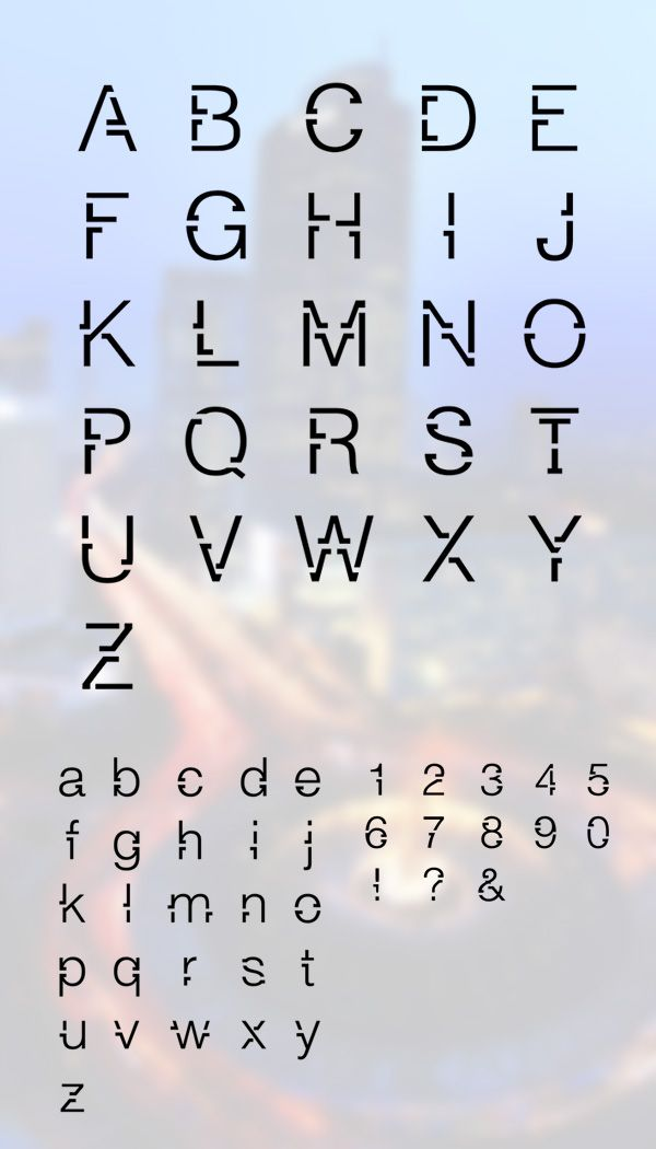 This would work really well for a poster heading font. The link has a bunch more cool free fonts as well!