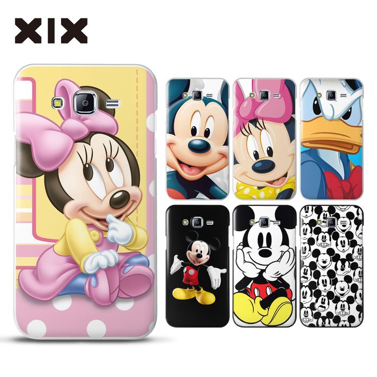 For coque Samsung Galaxy J7 Mickey mouse hard PC cover for fundas Samsung Galaxy J7 2016 new arrivals for case Samsung J7