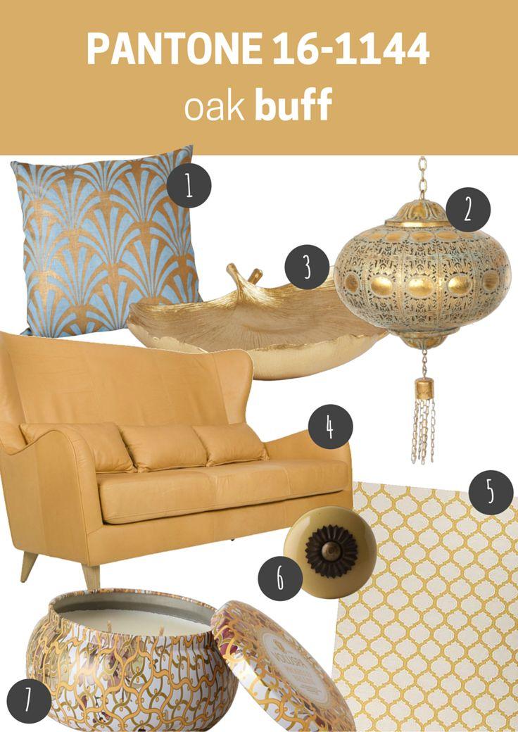 pantone 16-1144 oak buff   pokój dzienny // living room