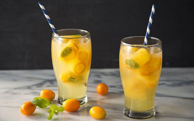 Citrus Summer Ice Cubes
