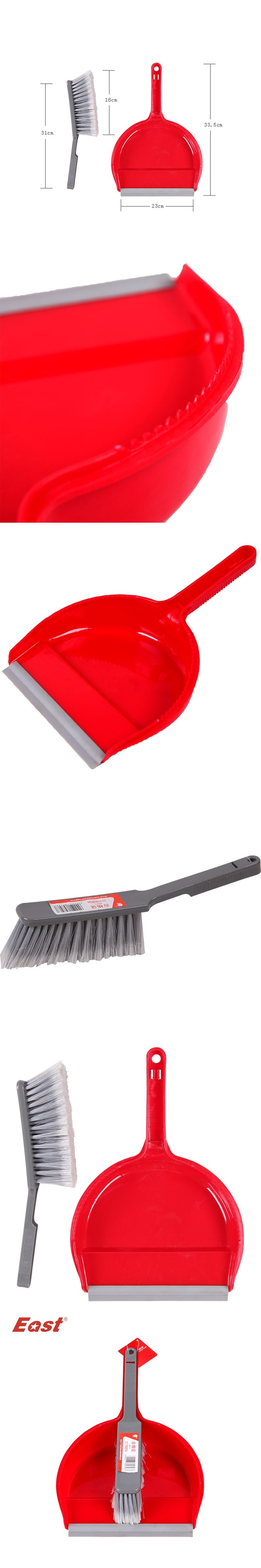 East Economic Broom & Dustpan set for cleaning keyboard talbe desk brush sweeper plastic tool cleaning tools factory selling