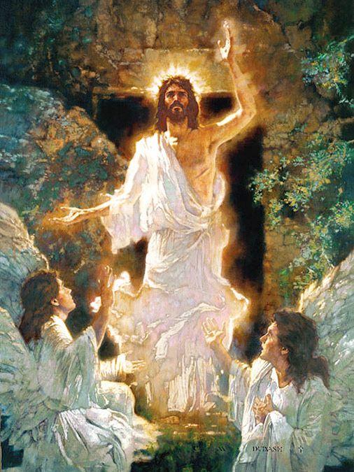 Michael Dudash, Jesus rising