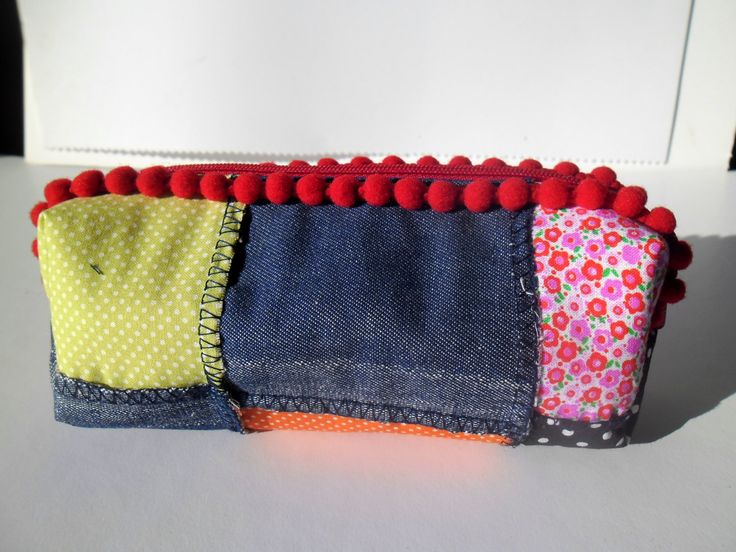 Back to the school pencil case, bag and purses, pouches and coin purses by homeworkart on Etsy