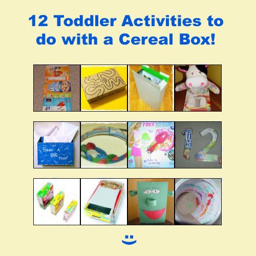 cereal box crafts for preschoolers 12 toddlers activities amp to do with a cereal box 994