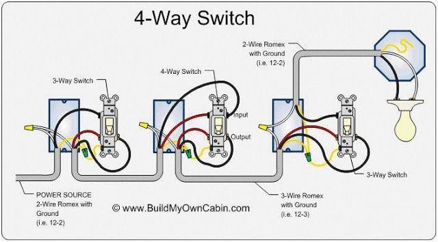 4 Way Switch Wiring Diagram Light Switch Wiring 3 Way Switch