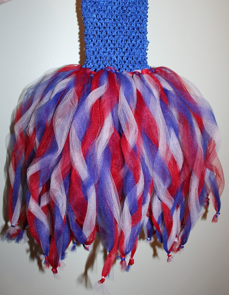 Great idea for twirling the layers and knotting them at the end. Never saw a tutu like this one! @Kinsey Kelley