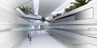 Project for a Mall in Saudi Arabia