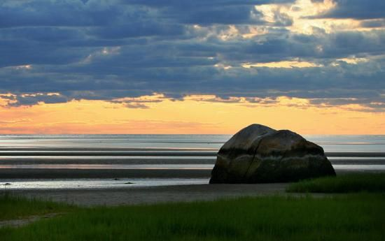 Skaket Beach Sunset, Cape Cod #vacation #travel