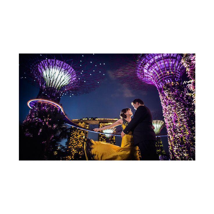 Singapore prewedding by Edwin Tan