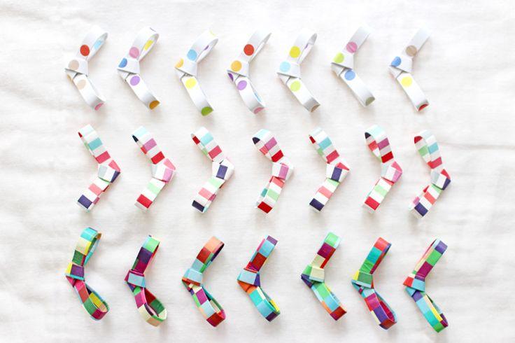 折り紙で作る、簡単で可愛い箸置きの作り方