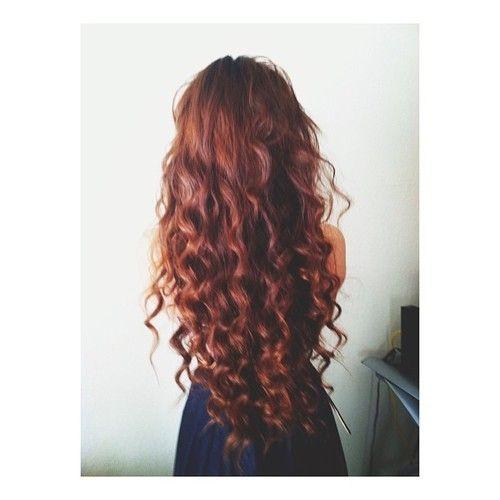 Natural Looking Big Messy Spiral Curls