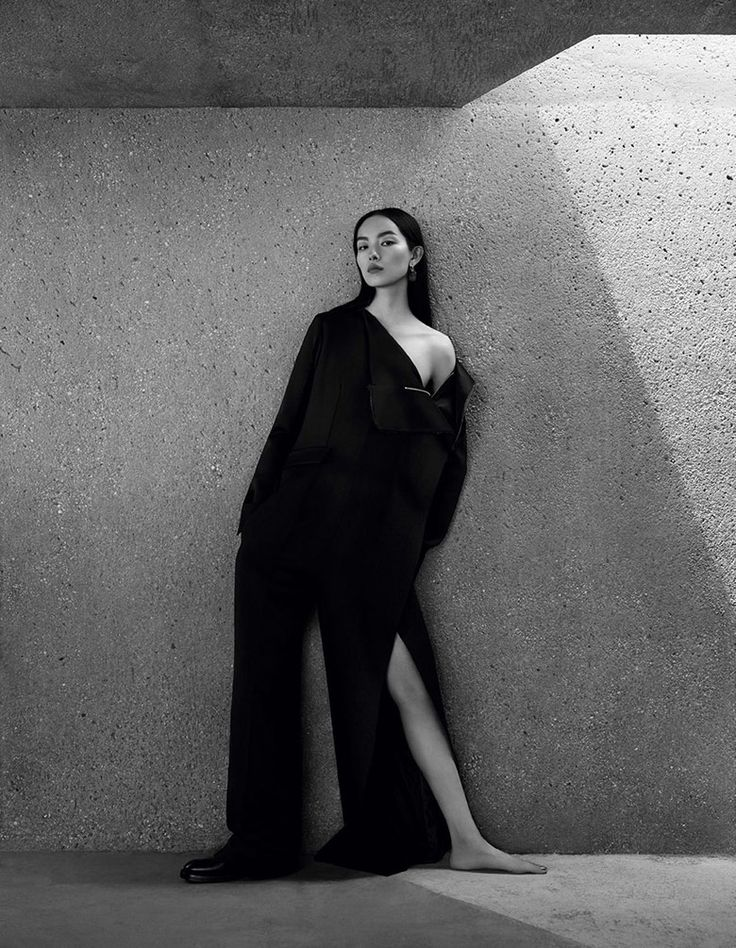 Fei Fei Sun by Ben Toms for Vogue China December 2016 | The Fashionography