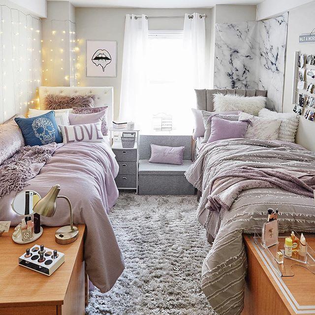 Purple Reigns Www Dormify Com College Dorm Room Decor Dorm Room Designs College Bedroom Decor